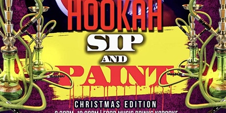 Sip & Paint (Christmas Edition) tickets