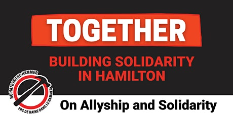 Together - Conversation Three: Allyship and Solidarity tickets