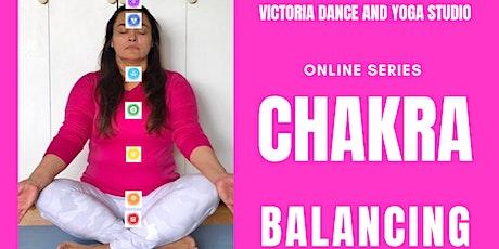 Online Chakra Balancing 8 Classes Series tickets
