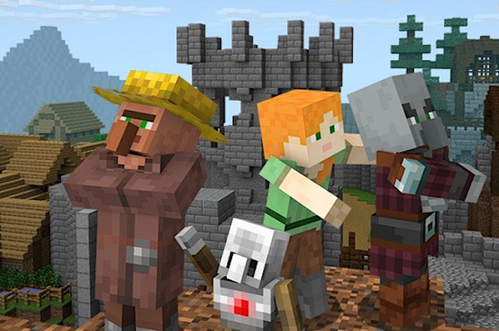In Support of #SmartNationTogether - ICanCode Minecraft Coding Workshop image