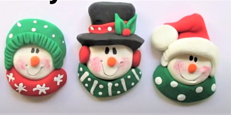 Christmas Creations with Air Dry Clay , Kids of age 5 and up tickets