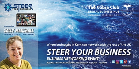 Steer Your Business - Business Networking Event,  Ashford, Kent tickets