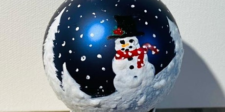 Holiday Ornament Painting with Lori tickets