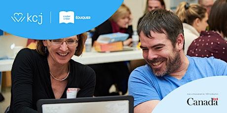 Activités virtuelles Heure de Code : Posez toutes vos questions à KCJ! billets