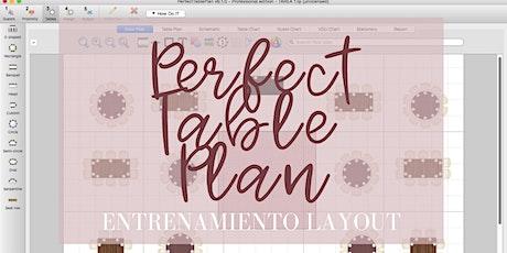 Entrenamiento Layout BASICO: Perfect Table Plan biglietti