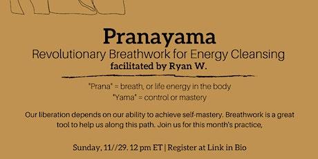 "November's Practice-- ""Pranayama: Revolutionary Breathwork"" tickets"