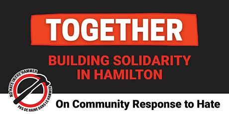 Together - Conversation Five: Community Response to Hate tickets