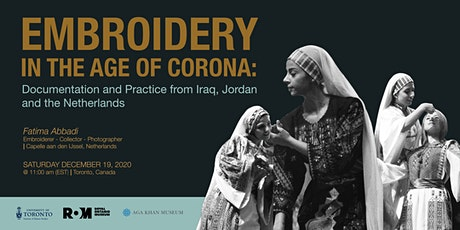 Embroidery in the Age of Corona tickets