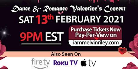 Melvin Riley Dance  & Romance Valentine's Concert tickets