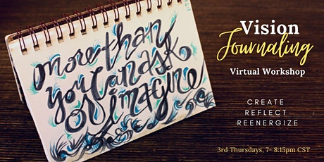 Vision Journaling Virtual Workshop tickets