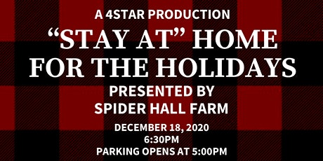 """Stay at Home"" for the Holidays tickets"