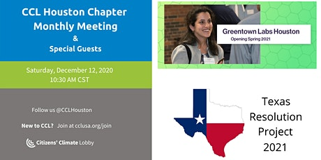 CCL Monthly Meeting, featuring Greentown Labs and Texas Resolution Project tickets