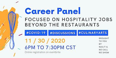 FREE Career Advice Panel - Hospitality Jobs In The Time Of Coronavirus tickets