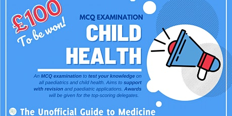 UGTM: Paediatrics Examination 2021 tickets