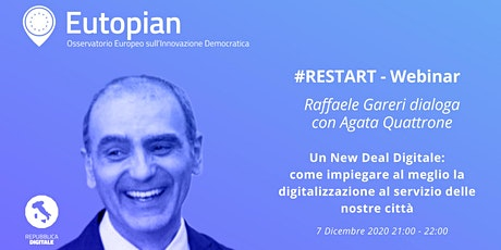 Un New Deal Digitale biglietti