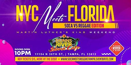 NYC Meets Florida (Soca & Reggae Edition) tickets