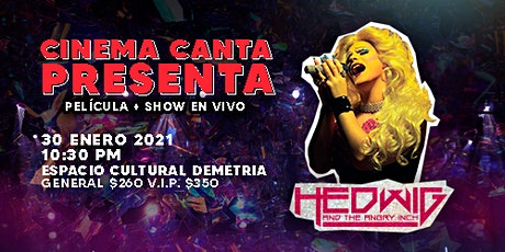 Cinema Canta Presenta: Hedwig and the Angry Inch tickets
