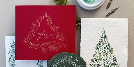 Holiday Wreaths with pointed flexible nib - 3.5 hrs tickets