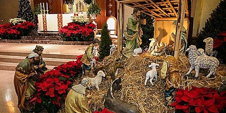 Mass - Christmas Eve at 2:00PM in Church - Ticket for 5 to 10 people tickets