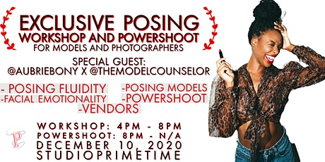 Exclusive Posing Workshop and Powershoot tickets
