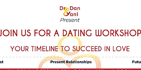 Zoom Virtual Love & Dating Workshop:Your timeline 2 succeed in love:Part `3 tickets