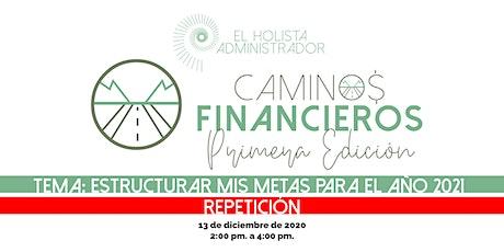 Caminos Financieros - Primera Edición boletos