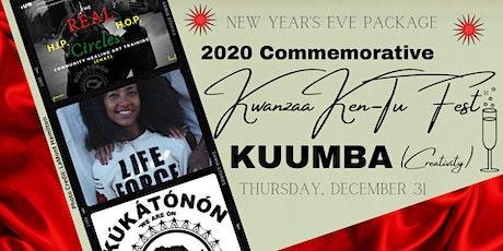NEW YEAR'S EVE - 2020 Commemorative Kwanzaa Ken-Tu Fest - KUUMBA tickets