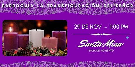 Misa Dominical 01:00 pm La Transfiguración del Señor, El Cafetal entradas