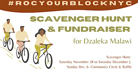 #ROCyour blockNYC: Scavenger Hunt and Fundraiser tickets
