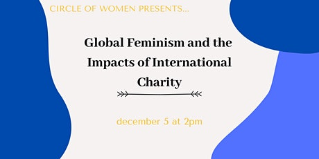 Global  Feminism and the Impacts of International Charity tickets