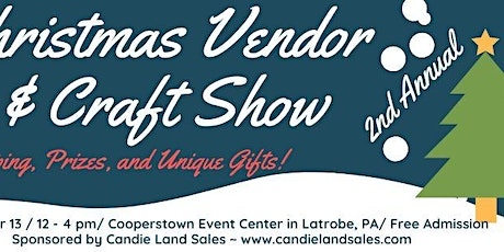 Christmas Marketplace 2021 Vendor & Craft Show tickets