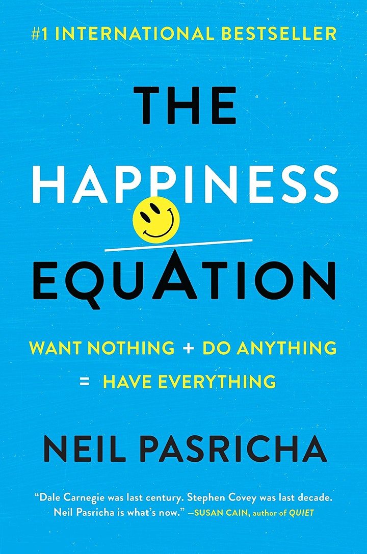 Book Review & Discussion : The Happiness Equation image