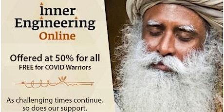 Yoga/Meditation: Online Inner Engineering program offered by Sadhguru tickets