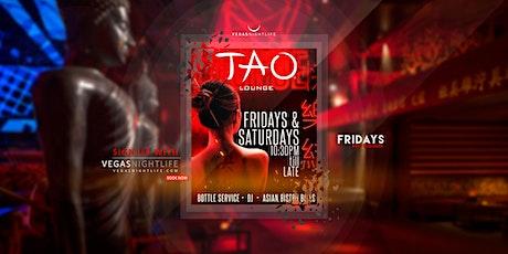 TAO Lounge Friday Las Vegas tickets