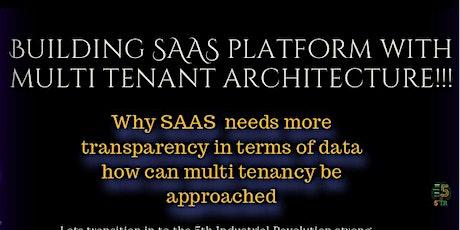 System Design|Multi Tenant SaaS Architecture | Suresh K| VP Technology EA tickets