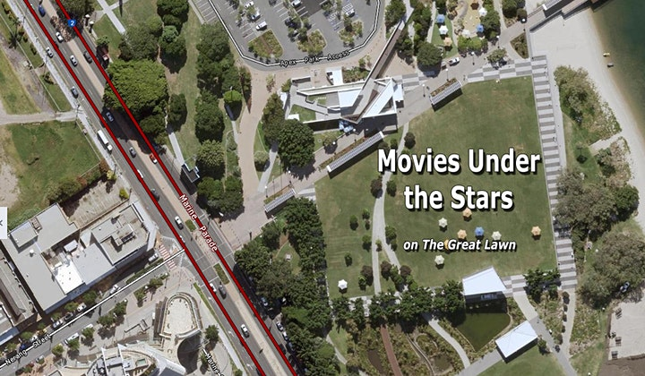 Movies Under the Stars – Summer Series - Broadwater Parklands image