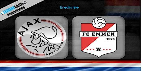 NL-StrEams@!.AJAX - EMMEN LIVE OP TV tickets