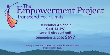 The EMPOWERMENT PROJECT-Transcend Your Limits tickets