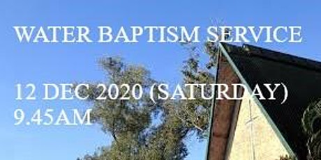 Water Baptism Service tickets