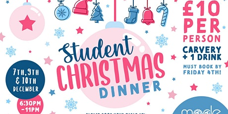 Student Christmas Dinner tickets