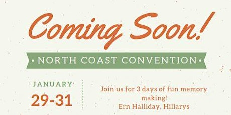 North Coast Covention tickets