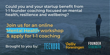 Mental health workshop and 1-1 coaching for startup founders tickets
