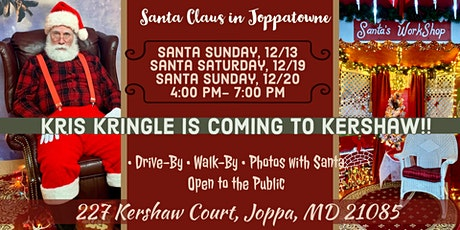 Santa Claus is Coming to Joppatowne tickets