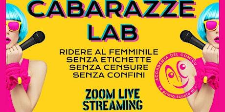 Cabarazze Lab biglietti