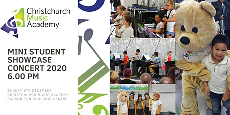 Christchurch Music Academy  Mini Concert 2020 6.00pm tickets
