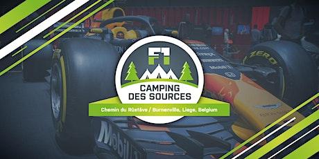 Camping des Sources / Spa-Francorchamps 2021 / Formule 1 billets