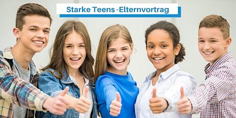 Gelassen durch die Pubertät  - interaktiver  ZOOM-Vortrag für Eltern Tickets