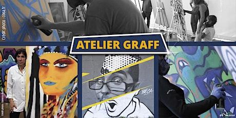 Atelier graff Calligraff janvier 2021 billets