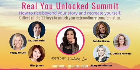 Real You Unlocked Summit - How to rise beyond your story and recreate tickets