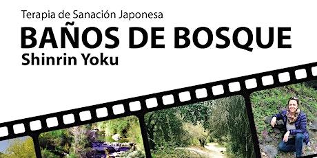 Terapia de Sanación Baños de Bosque - Shinrin Yoku tickets